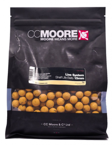 CCMOORE LIVE SYSTEM SHELF LIFE BOILIES